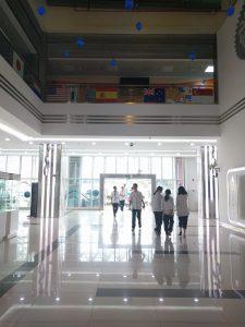 En del av skolan